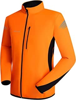 Men's Winter Thermal Cycling Jacket Reflective Water Resistant Windbreaker