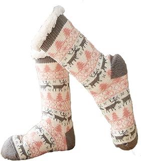 Bolosson レディース ロング靴下 厚い 保温 もこもこ ソックス ゆかいた専用 自宅 睡眠 秋冬 就寝ソックス セット