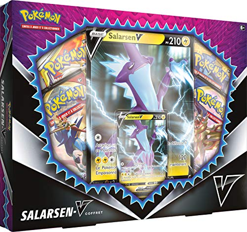 Pokemon Salars-V-box, POEBFEV20