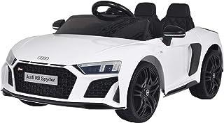 Happy Garden Voiture électrique Audi R8 Spyder - Blanche