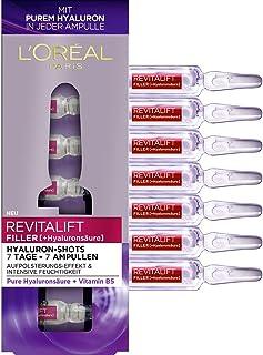LOréal Paris Revitalift Filler - Hidrourón con ácido hialurónico puro para una hidratación intensa y una piel acolchada...