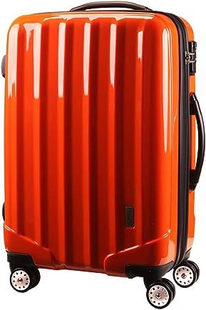 ファスナー式スーツケース TSAロック 4輪 ダブルキャスター[ケーテイーワールド] KT523FCX