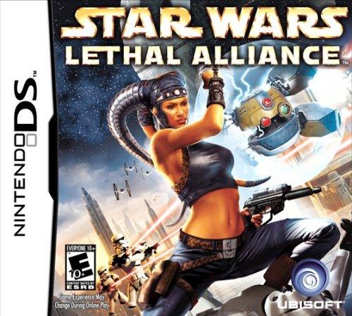 STAR WARS LETHAL ALLIANCE / Nintendo DS juego en ESPAÑOL multilingüe, COMPLETO con caja e instrucciones escritas en francés (juego compatible con Nintendo DS Lite DSI-3DS-2DS-XL-NEW)