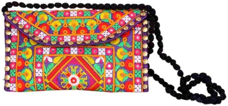 Wholesale 50 pc lot Bulk Indian Vintage Hand Bag Traditional Bridal Clutch Beaded Shoulder Bag potli Pouch Hand Bag Purses Women Purse by Craft place-80
