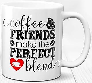 Amigos Taza del amante del café 330 ml Taza de cerámica Regalo para amigos Café Té Cotizaciones