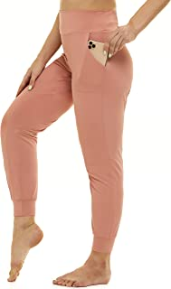 Stretchy Fitted Yoga Pants with Pockets Plus Size, Soft...