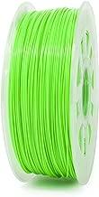 Gizmo Dorks 3mm (2.85mm) ABS Filament 1kg / 2.2lb for 3D Printers, Fluorescent Green (UV Light)