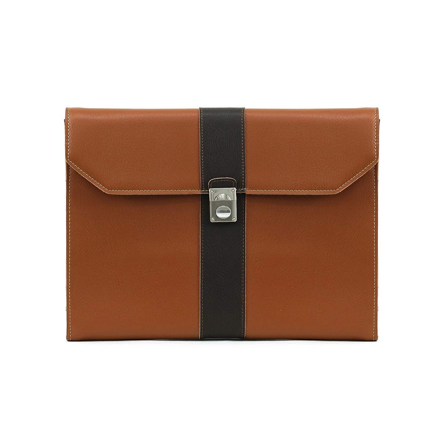 ベーコン一晩計器LOTUFF(ロトプ) 牛革 レザー 5 Color クラッチバッグ セカンドバッグ シンプル iPad 収納可能 LO-6503 メンズ レディース Clutch Bag [並行輸入品]
