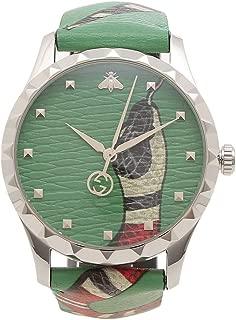 [グッチ]腕時計 メンズ GUCCI YA1264081 グリーン [並行輸入品]