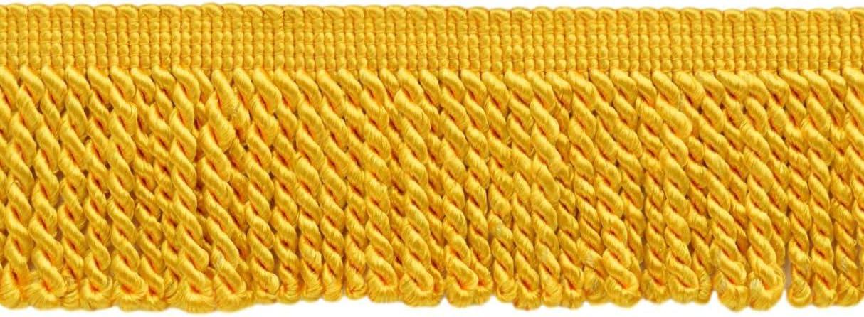 DÉCOPRO 10 Yard Value Pack San Francisco Mall 2.5 Yellow Bullion unisex Inch Bright Fri