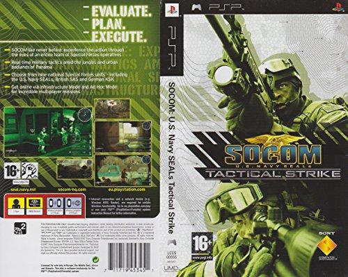 SOCOM: U.S. Navy SEALs Tactical Strike (PSP) [Edizione: Regno Unito]
