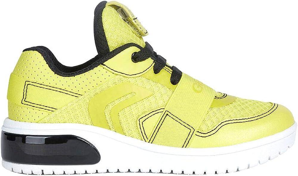Geox j xled boy b, scarpe da ginnastica basse bambino - ragazzo,sneakers,in pelle sintetica e tessuto J927QB01454