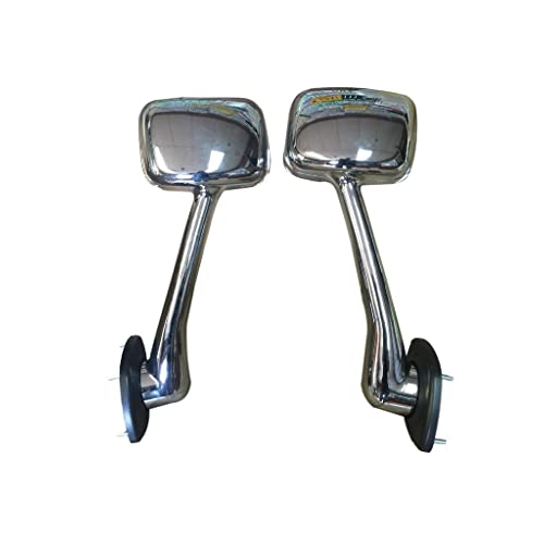 FREIGHTLINER CASCADIA HOOD MIRROR SET (BOTH SIDES) ALL CHROME