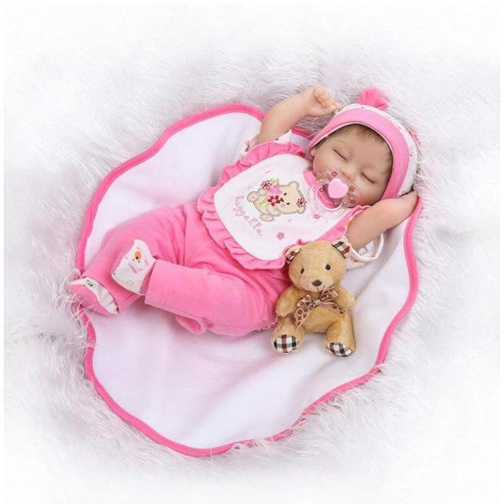 句冷笑する流出16インチ生まれ変わった赤ちゃん人形シミュレーション赤ちゃん人形かわいいソフトシリコーン赤ちゃんのおもちゃクリエイティブギフト40センチメートル、女の子,人形ドール