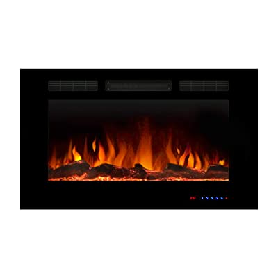 Valuxhome Wall Electric Fireplaces with Remote Control