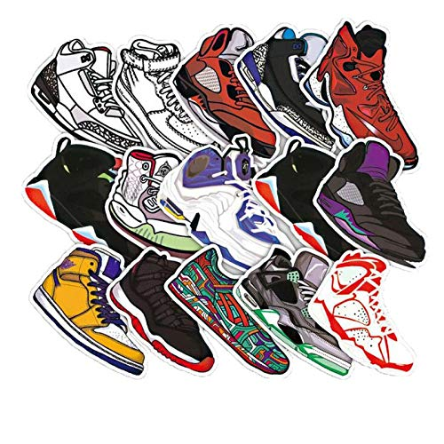10/30/50pcs/set Fashion Stickers Sneaker Basketball Waterproof...