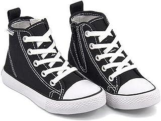 [チャーキーズ] 女の子 男の子 キッズ 子供靴 運動靴 通学靴 ハイカット スニーカー サイドジップ クッション性 カジュアル デイリー スポーツ スクール 学校 181001