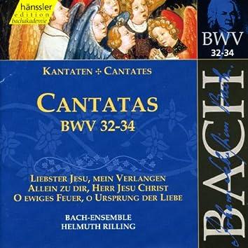 Bach, J.S.: Cantatas, Bwv 32-34