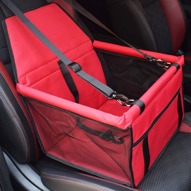 Pet Carrier, pet car seat, seat Belt Dog Bracket, Safe and Stable, Suitable for Travel Observation
