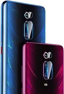 【2枚セット】QULLOO Xiaomi Mi 9T (Redmi K20) /Redmi K20 Pro カメラフイルム 強化ガラス 高硬度9H 指紋防止 99%高透過率 耐衝撃 飛散防止 カメラ液晶保護フィルム