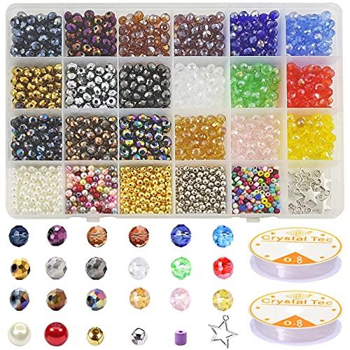 Cuentas Cristal Facetado ,Abalorios Doble Cono,Perlas de cristal,cuentas cristal murano,Cuentas de Cristal,Cuentas Cristal Plastico,cuentas de cristal de colores