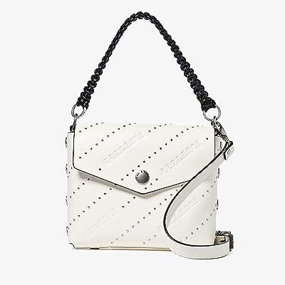 rag & bone Atlas Shoulder Bag (Antique White Studs) Handbags