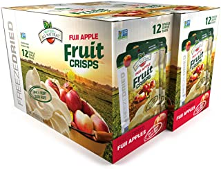 Brothers-ALL-Natural Fuji Apple Crisps, 0.35-Ounce Bags (Pack of 24)