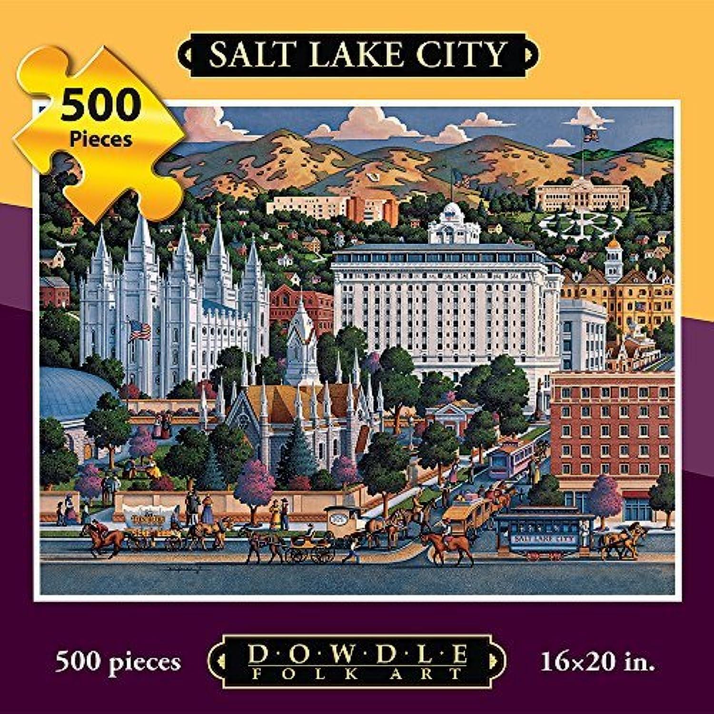 mejor vendido Jigsaw Jigsaw Jigsaw Puzzle - Salt Lake City 500 Pc By Dowdle Folk Art by Dowdle Folk Art  ofrecemos varias marcas famosas