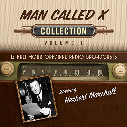 The Man Called X, Collection 1 audiobook cover art