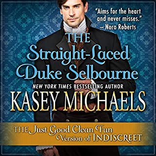 The Straight-Laced Duke Selbourne audiobook cover art