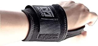 Mooto Korea Taekwondo Wrist Supporter Guard Protector Black Split Free One Size for Adult a Pair MMA Martial Arts Gym School Academy