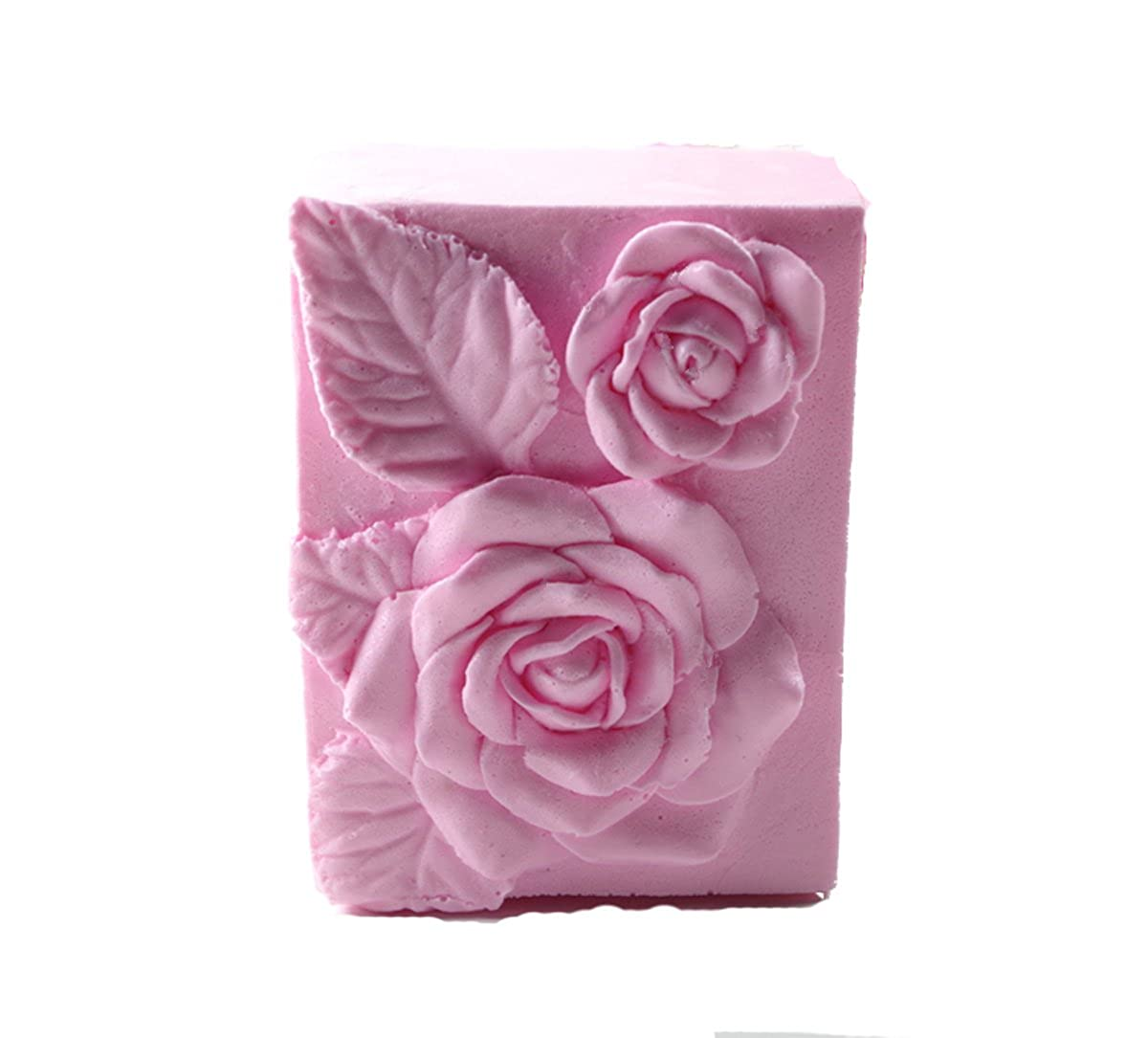 Longzang Flower Rose S442 Art Silicone Soap Craft DIY Handmade Candle Molds