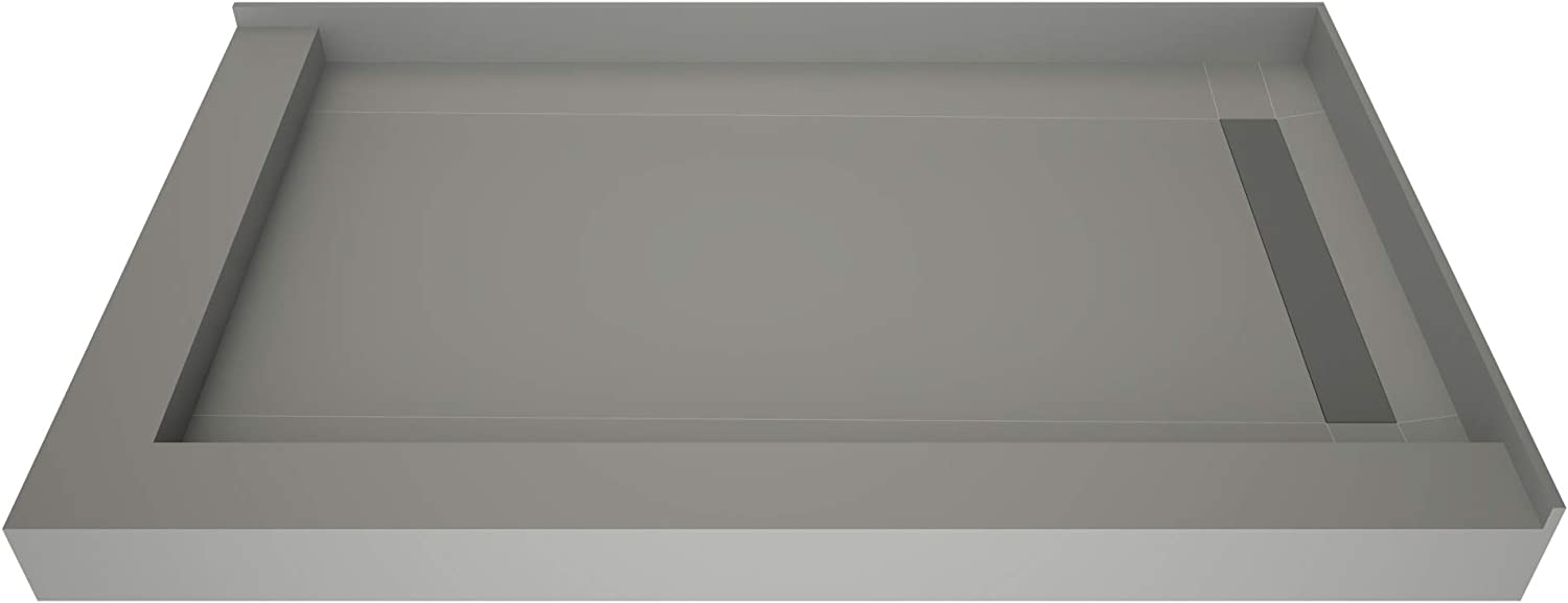 Tile Redi F3648R-DLWFBVZ Shower Pan Kit with Detroit Mall Dra Right Flashing Fixed price for sale
