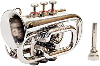 Sai Musical India PoTr-05, Pocket Trumpet, Bb, Nickel