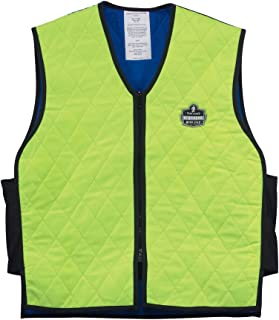 Ergodyne Chill-Its 6665 Evaporative Cooling Vest - Lime, Large