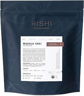 Rishi Masala Chai Tea, Organic Loose Leaf Black Tea Blend, 1 lb Bag