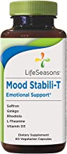 LifeSeasons - Mood Stabili-T - Positive Mood Booster - Enhanced Calmness and Happiness - Relaxed and Balanced Mind - Conta...
