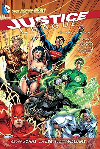 Download Justice League Vol. 1: Origin (The New 52) 1401237886