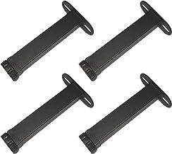 4 meubelpoten voor bed verstelbare meubelpoten bed meubelpoten metalen steunvoet dubbel gat type T bedpoten ondersteuning ...
