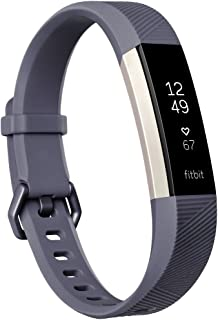 Fitbit Alta HR Activity Tracker with Heart Rate Monitor, Blue/Gray, Small