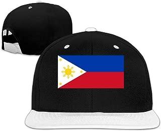 Unisex Philippines Flag Baseball Hat Relaxed Cotton Fisherman Cap