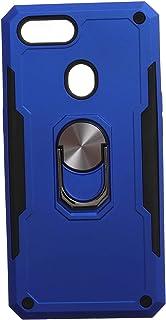جراب خلفي قوي آيرون مان بحلقة معدنية ومسند لريلمي C1 - ازرق اسود