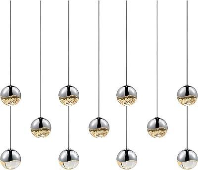 Amazon.com: 11-Light Rectangle Medium Pend: Home Improvement