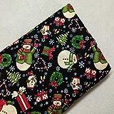 Stoff für Weihnachten, Patchwork-Fusseln, Patchwork-Optik,