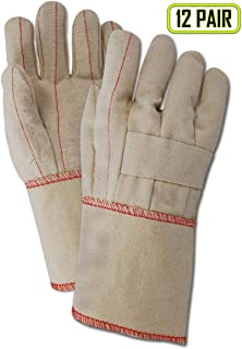Magid Safety HeaterBeater 97KGT Hot Mill Gloves | 24 oz. Cotton Canvas Hot Mill Gloves with a 5