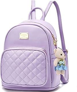 حقيبة ظهر جلدية حقيبة مدرسية حقائب سفر يومية كاجوال للنساء