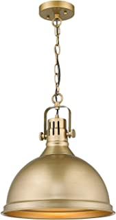 Emliviar 1-Light Farmhouse Pendant Light, 14