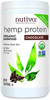 Nutiva Organic Chocolate Hemp Shake, 16 Ounce - 3 per case.