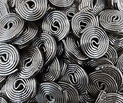 Sunny Island Broadway Black Licorice Wheels, Licorice Flavored Candy, 2 Pounds Bag