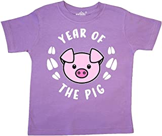 inktastic Year of The Pig Chinese Zodiac Toddler T-Shirt